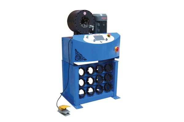 Hidraulički stroj za stezanje hidrauličnih crijeva za promociju malih poduzeća